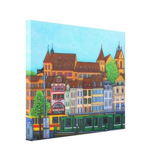 Barfusserplat Rendez-vous Canvas Print