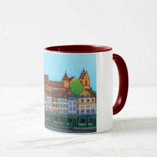 Barfüsserplatz Rendez-vous Mug by Lisa Lorenz