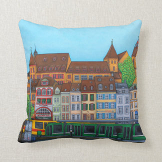 Barfüsserplatz Rendez-vous Pillow By Lisa Lorenz
