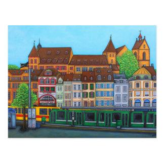 Barfüsserplatz Rendez-vous PostCard By Lisa Lorenz