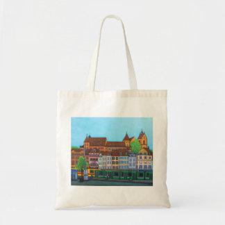 Barfüsserplatz Rendez-vous Tote Bag By Lisa Lorenz