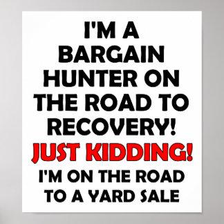 Bargain Hunter Funny Poster