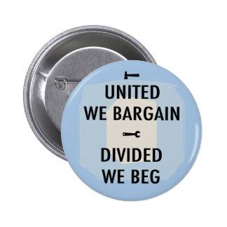 Bargain or Beg III 2 Inch Round Button