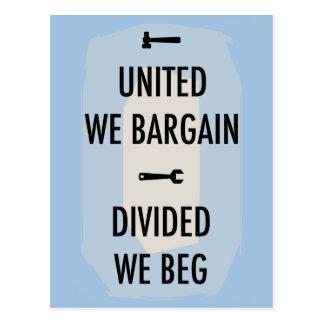 Bargain or Beg III Postcard