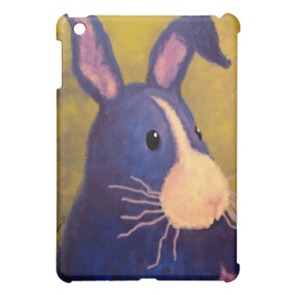 BargasArtworks Big Blue Bunny Speck Case iPad Mini Case