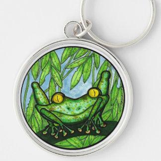 BargasArtworks designed Tree Frog Keychain