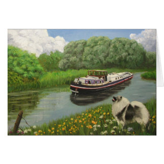 """Barge Dog"" Card"