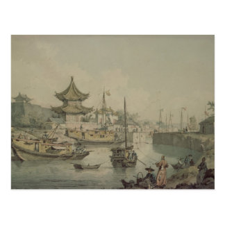 Barges of Lord Macartney's Embassy to China Postcard