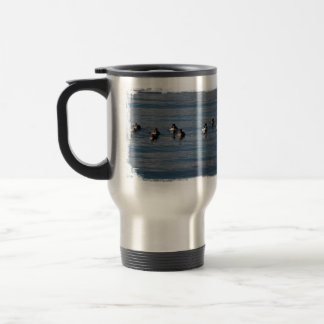 BARGOL Barrows Goldeneyes 15 Oz Stainless Steel Travel Mug