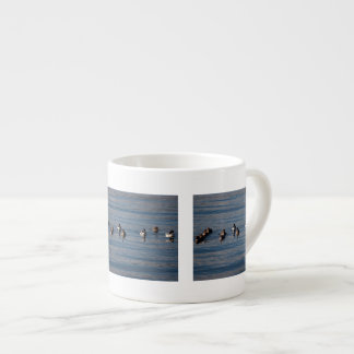 BARGOL Barrows Goldeneyes 6 Oz Ceramic Espresso Cup