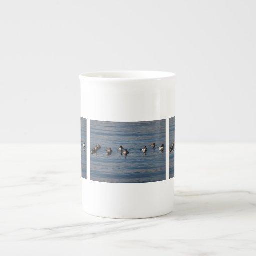 BARGOL Barrows Goldeneyes Porcelain Mug