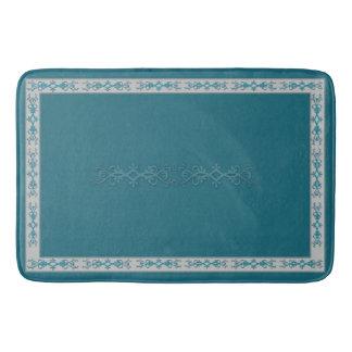 Barhroom Rug/Mat - Border/Design (Matches Curtain) Bath Mat