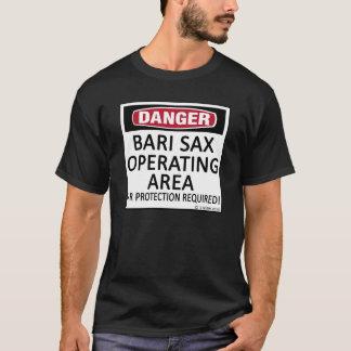 Bari Sax Operating Area T-Shirt