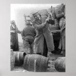 Barillets de destruction de Beer, 1924 Affiche