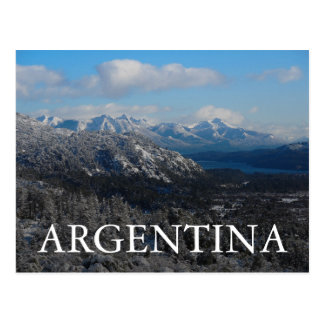 Bariloche, Rio Negro, Argentina Postcard