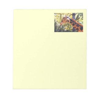 Baringo Giraffe Notepad