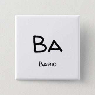 bario ba 2 inch square button