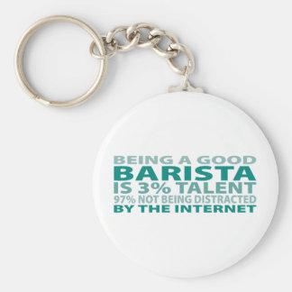 Barista 3% Talent Key Chains