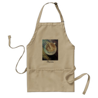 Barista Apron w/ Coffee Art