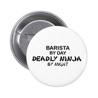 Barista Deadly Ninja 2 Inch Round Button
