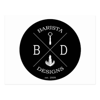 Barista Designs Postcard