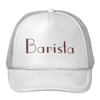 Barista Hat