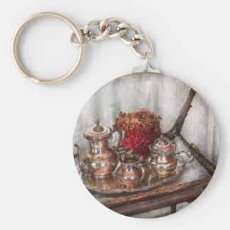 Barista - Tea Set - Morning tea Keychains