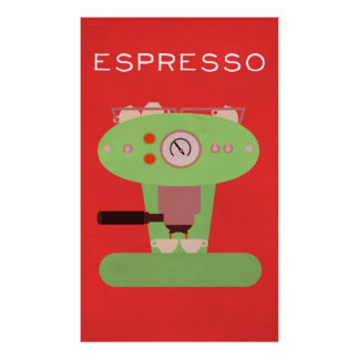 Barista's Art Collection: Espresso Poster