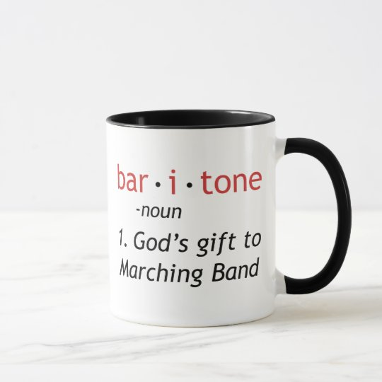 Baritone Definition Mug