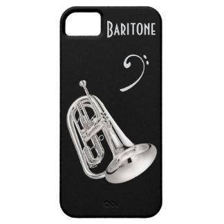 Baritone Horn in Silver iPhone 5 Case