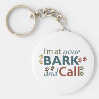 bark-and-call keychain