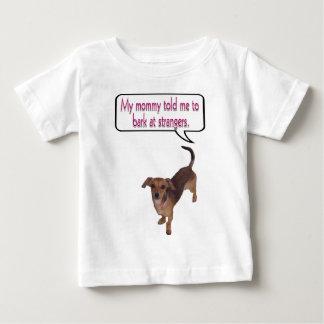 bark at strangers.png t-shirts