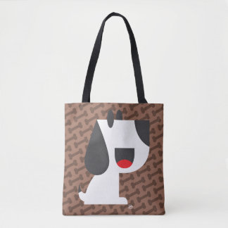 Bark Bark (Brown) - Tote Bag