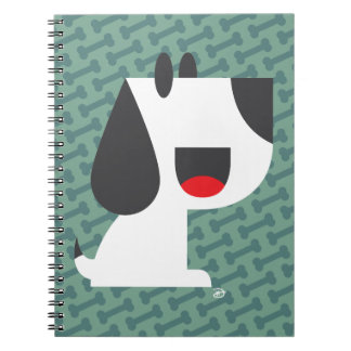 Bark Bark (Green) - Notebook