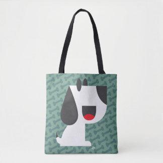 Bark Bark (Green) - Tote Bag