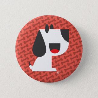 Bark Bark (Red) - Button