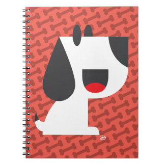 Bark Bark (Red) - Notebook