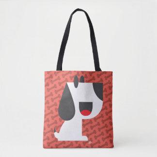 Bark Bark (Red) - Tote Bag