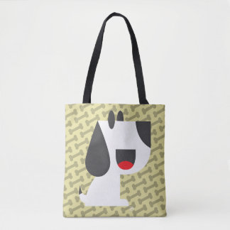 Bark Bark (Yellow) - Tote Bag
