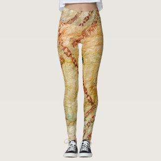 Bark Cloth Leggings