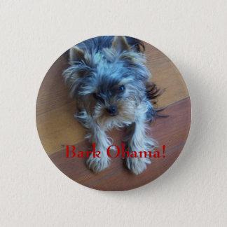 Bark Obama! 2 Inch Round Button