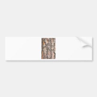 Bark of Scotch pine tree as background Bumper Sticker