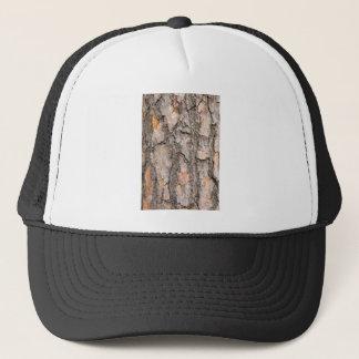 Bark of Scotch pine tree as background Trucker Hat