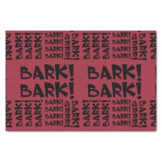 Bark! Tissue Paper