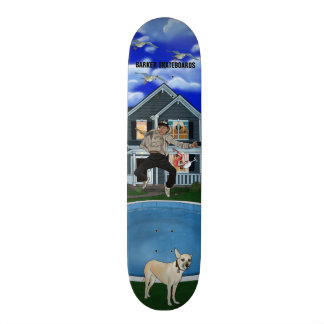 Barker Skateboards (Solo Party) Design
