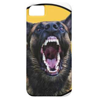 "Barking Belgian Malinois ""Maligator"" iPhone 5 Cases"