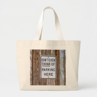 Barking Sign Tote