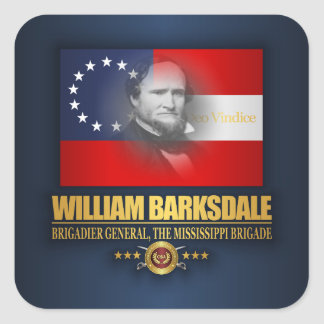 Barksdale (Southern Patriot) Square Sticker