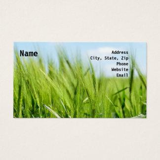 Barley Business Card