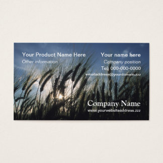 Barley business card